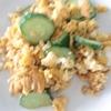「きゅうりと卵の炒め物」レシピ