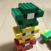 LEGOでダルマ落としを作った。レゴ (LEGO) クラシック 黄色のアイデアボックス スペシャル 10698【LEGO】