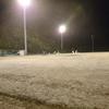 ナイターで野球の練習⚾