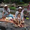 タイ生活65日目。急流の中でLEOビール。