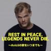【追悼の意を込めて】Avicii(アヴィーチー)の歌をいつまでも。