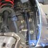 デミオのロードノイズ低減対策・フロントタイヤハウス・フェンダー