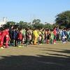 サッカー部:市内大会① 開会式~試合前