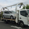 小平市から遺産相続の車検切れ故障車をレッカー車で廃車の引き取りしました。