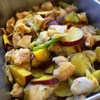 鶏肉とさつま芋の甘露煮