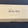 Acty-G3 2種類のバッテリーの取り扱い