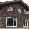 【これは家です】外壁張り完了しました!