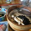 ●男鹿市入道埼「美野幸」の天然真鯛の石焼き定食