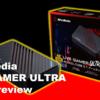 【GC553 レビュー】4K録画対応の外付けキャプチャーボード LIVE GAMER ULTRA がAVerMediaから発売!1080pなら最大120fps録画にも対応!
