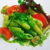 【パセリのクリームペンネ】パセリのグリーンと、爽やかな風味が美味しいパスタです
