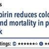 ACPJC:Therapeutics アスピリンは中等度リスク患者の大腸癌発症と死亡を減らす
