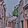 剥皮寮(パオピーリャオ)のレトロな街並に惹かれて、入口まで行ったが。。。