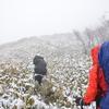 白髪山の雪女遊山 雲の中