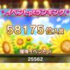 【デレステ】イベント「SUN♡FLOWER」結果報告