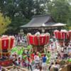 五穀豊穣に感謝し、街中を練り歩く【吉野山 秋祭り】(吉野町)