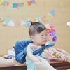 【1歳0ヶ月】ルーちゃん、一升餅と期待を背負う。