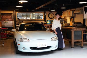 クルマDIY女子へインタビュー! ボロボロの中古車が私の愛車になるまで