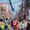【214】台東区松が谷 猛暑のかっぱ橋七夕祭り