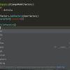 [tips] factoryboy で作成したモデルに type hint をつける方法