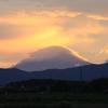 夕暮れ景色~その111『心動かされる富士山』