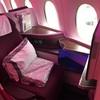 搭乗記 カタール航空ビジネスクラス フランクフルト〜ドーハ