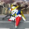 XXXG-01W ウイングガンダム 【ガシャポン戦士dash プチ改造】