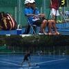 県新人テニス大会ダブルス予選2日目