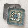 ヨーロッパの手あみ:かぎ針編みのバッグ