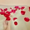 ローズペタルでバスタイム。薔薇のお風呂