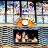 神話の里の「からくり時計」と「ステンドグラス」宮崎ブーゲンビリア空港②