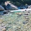 阿寺渓谷、二本木の湯。
