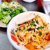 ダナンのご当地汁なし麺 ミークワン屋 - Mì Quảng 1A