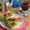 プチフランスでお手軽バインミー♪と家淹れコーヒーもエスニックに。。