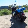 【バイク旅行】原付二種(125cc)のスクーターで静岡へツーリング その3 -静岡駅から蓬莱橋に寄って、御前崎へ-