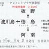 クレメントプラザ乗車票(特急券)