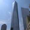 アメリカで一番高いビル ワンワールドトレードセンターを見に行ってみました。