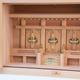 尾州桧で作る箱宮神殿シリーズ 幅1尺6寸の三社の神棚