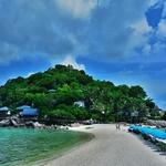 タオ島から「ナンユアン島(Nangyuan Island)」上陸~1DAY 島一周シュノーケリングクルーズにて