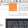 webブラウザにPush通知送るサーバとjsのサンプル