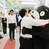 くまモンが富山を訪問 復興支援ありがとうだモン!