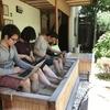 足湯で進捗最高! 熱海の温泉旅館おんやど恵さんで開発合宿してきた!