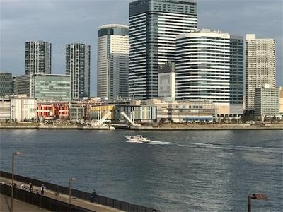 気温21度最高のランニング日和〜木遣り橋と、晴海橋〜