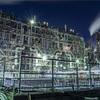 川崎の工場夜景:Night View of the Factory Zone of Kawasaki