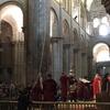 サンティアゴ・デ・コンポステーラ大聖堂の香炉アトラクション