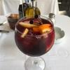 夏の美的ドリンク。フルーツ漬けのサングリア