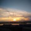 今日の1枚 ~大阪湾に沈む太陽~