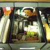 IKEAの箱に文房具(大きな収納ケースの断捨離)