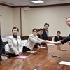 23日、2月県議会に向けた知事申し入れ