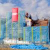 工事96日目:屋根瓦工事終盤