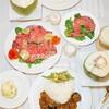 【洋食】カレーの日のサイドメニュー/My Homemade Food/อาหารมื้อดึกจานหลัก(แกงกะหรี่แบบญี่ปุ่น)กับอาหารกินเล่น